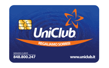 CARTA UNICLUB – Regaliamo sorrisi